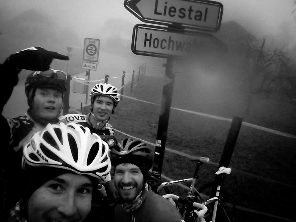 Kalt und neblig - das perfekte Wetter für Radsport!