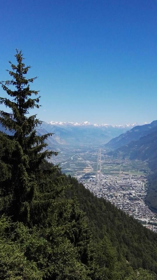 die Belohnung für das Schuften am Berg: eine atemberaubende Aussicht