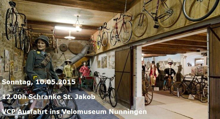 Ausfahrt ins Velomuseum in Nunningen am 10.05.2015