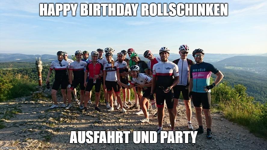 Happy Birthday Rollschinken!