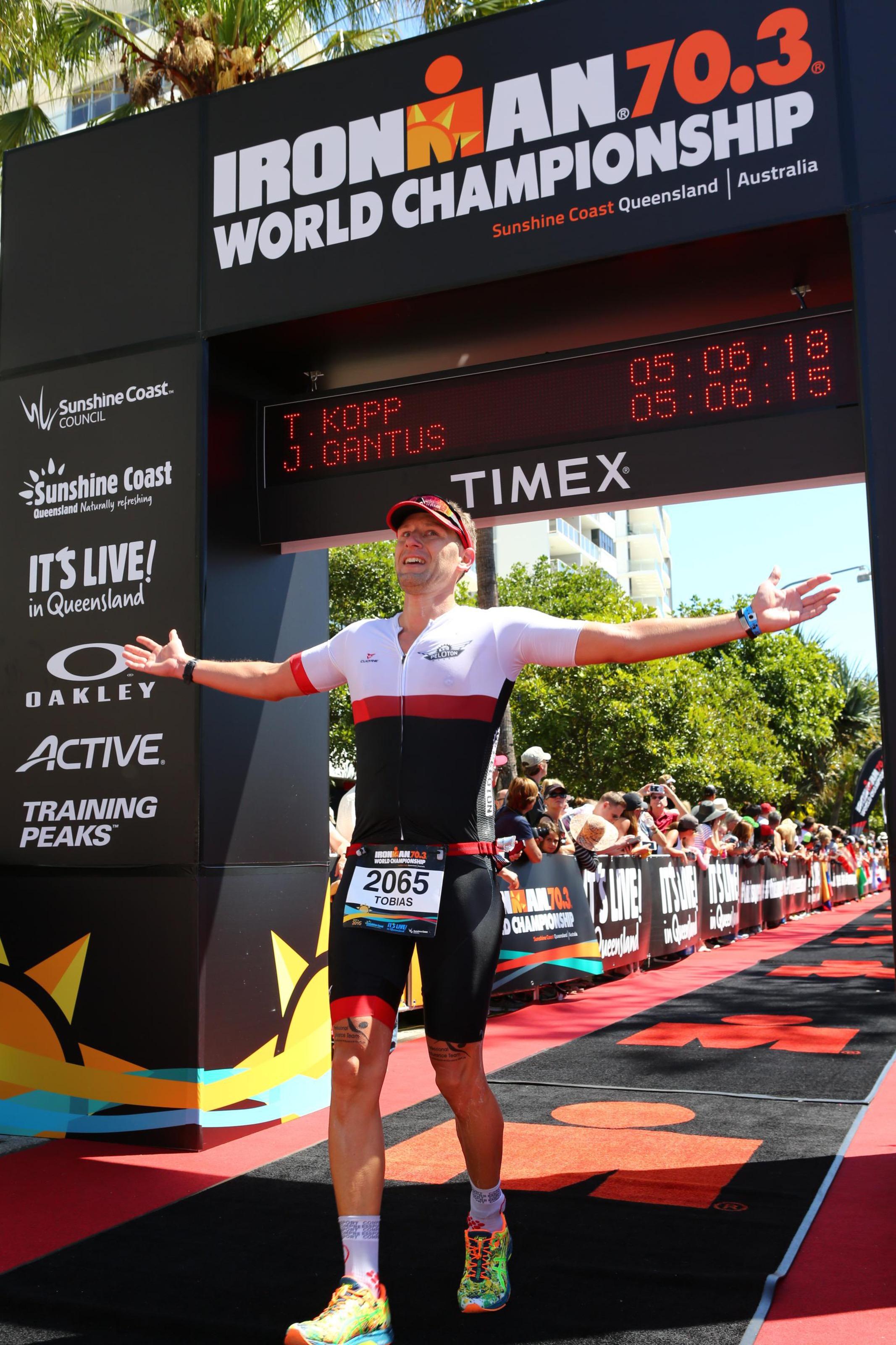 Tobi rockt die Iron Man Weltmeisterschaft in Australien